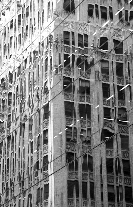 Manhattan Reflection VII